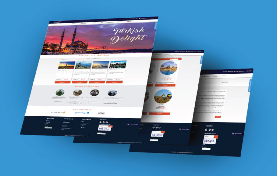 Jetair Tours website